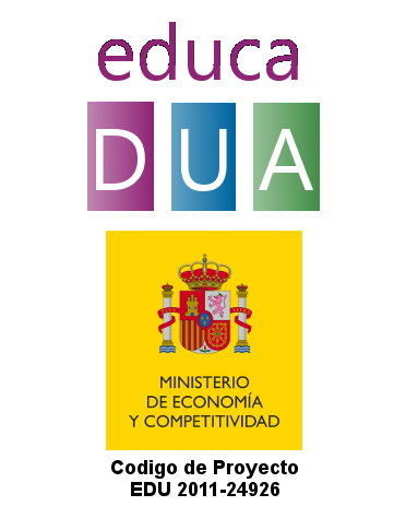 educaDUA is the DUALETIC project's broadcasting platform on the Internet (funded by Ministerio de Economía y Competitividad, project id: EDU 2011-24926